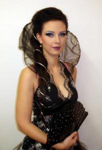 Modelka Petra Janoštíková