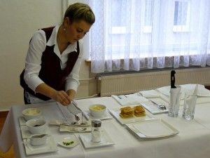 Markéta Krejčí, studentka 3. ročníku oboru Hotelnictví