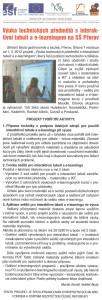 Článek – Zpravodaj školství Olomouckého kraje, číslo 3/2013.