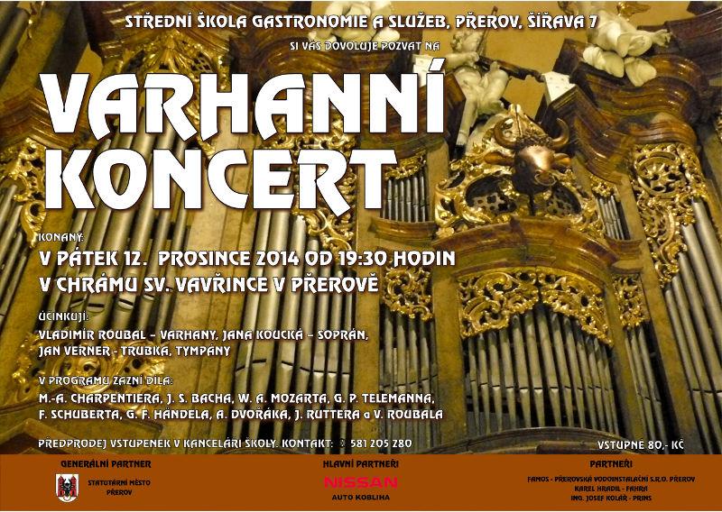 Varhanní koncert 2013