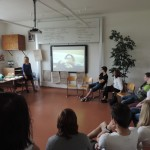 Public speaking s Ivou z Makedonie ...