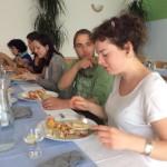 Projektový den jsme zakončili v restauraci Bečva na specialitách řecké kuchyně.
