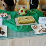 Sportovní tematika na dortech