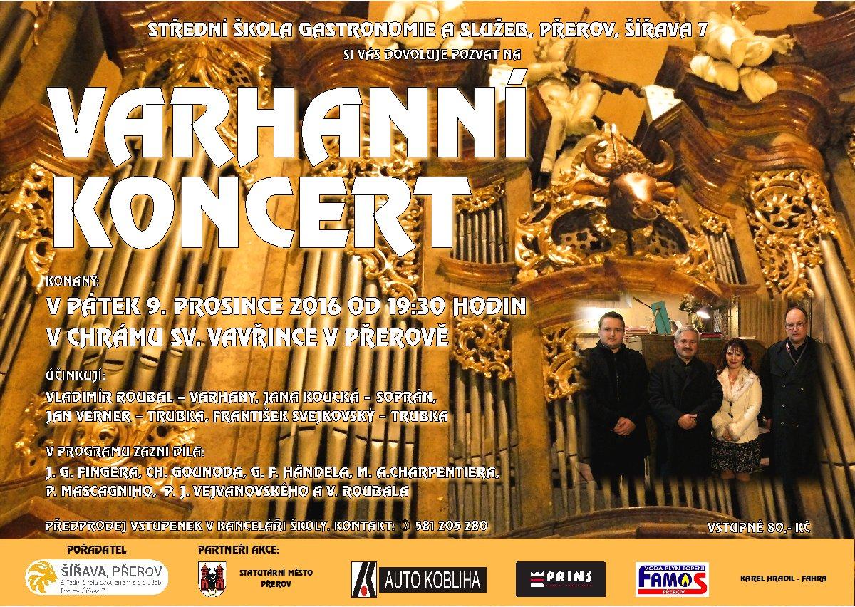 Varhanní koncert 2016