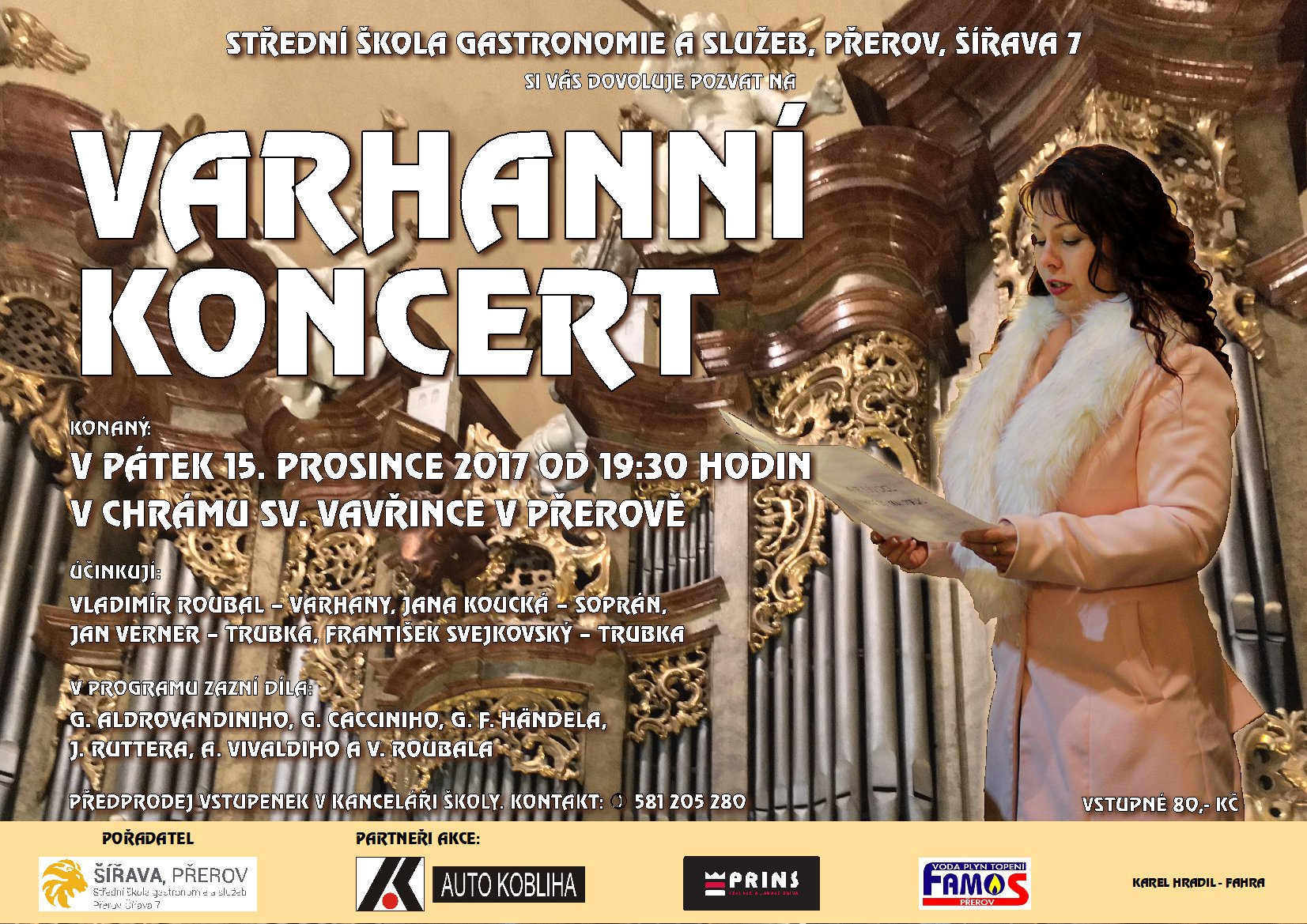 Varhanní koncert 2017