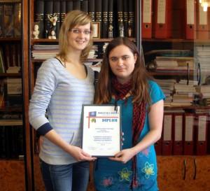 Studentky H1T, které se zúčastnily soutěže Moravská Brána