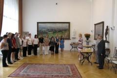 Slavnostní předání maturitních vysvědčení 2011