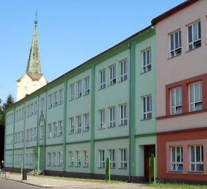 Budova školy - dnešní vzhled