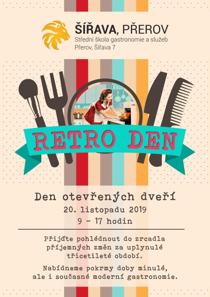 Plakát DOD 2019 - Retro den