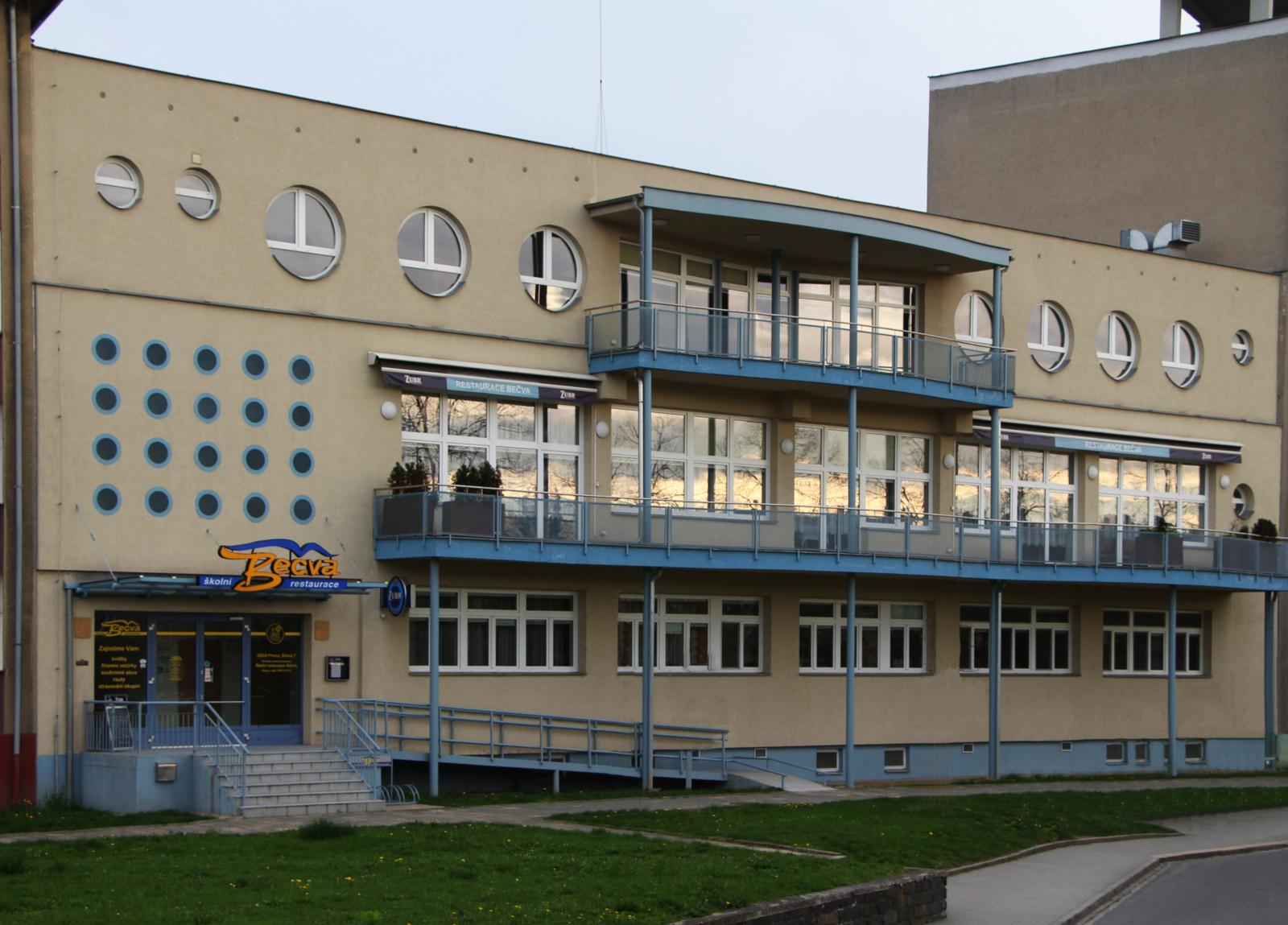 Budova SOP restaurace Bečva